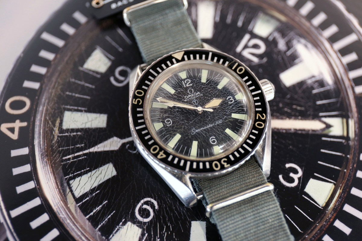 Jb Lighting Schweiz Auction Report A Military Seamaster 300 That Served Its