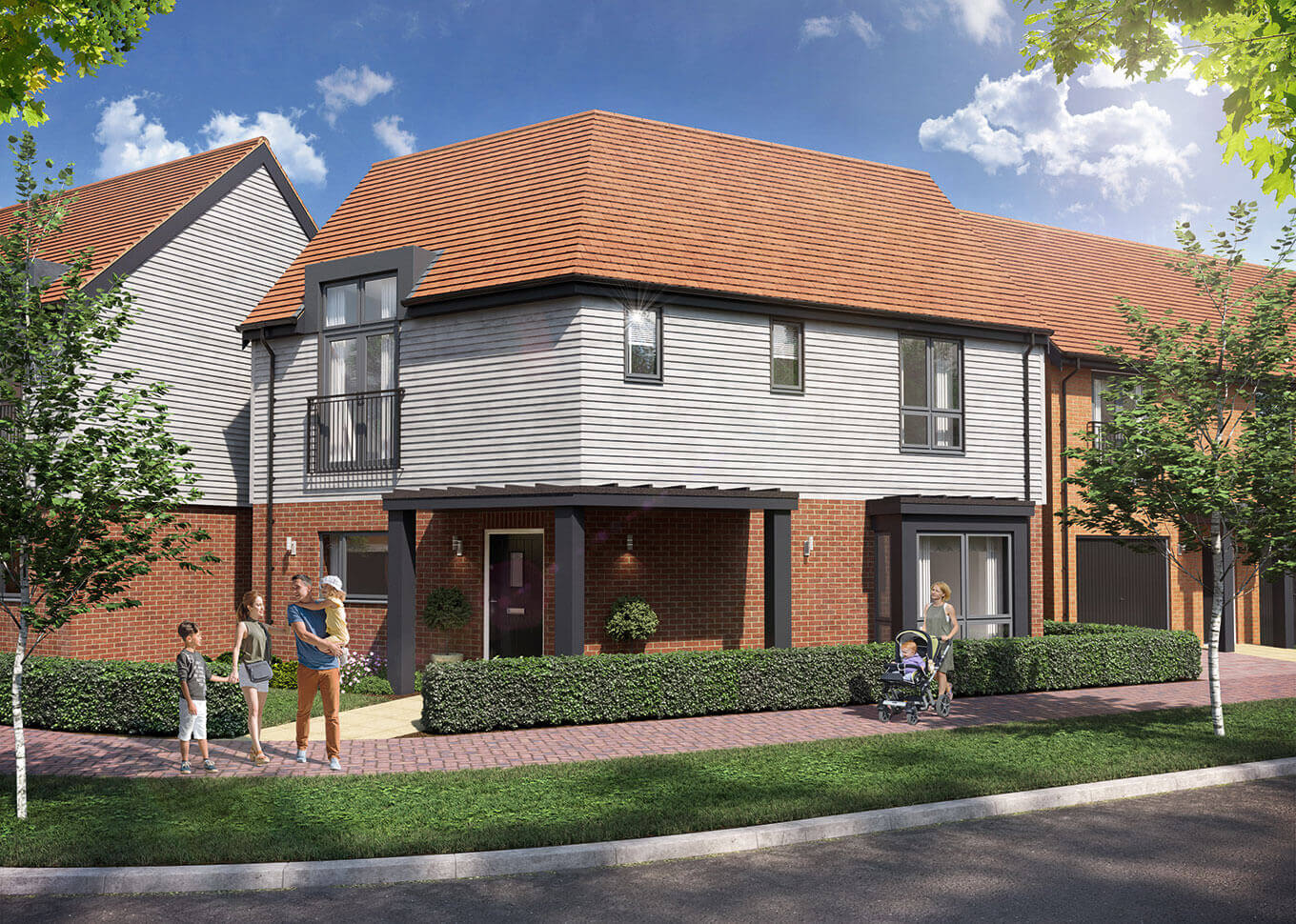 Ashford Paris Houses For Sale In Ashford Kent Chilmington Hodson Developments