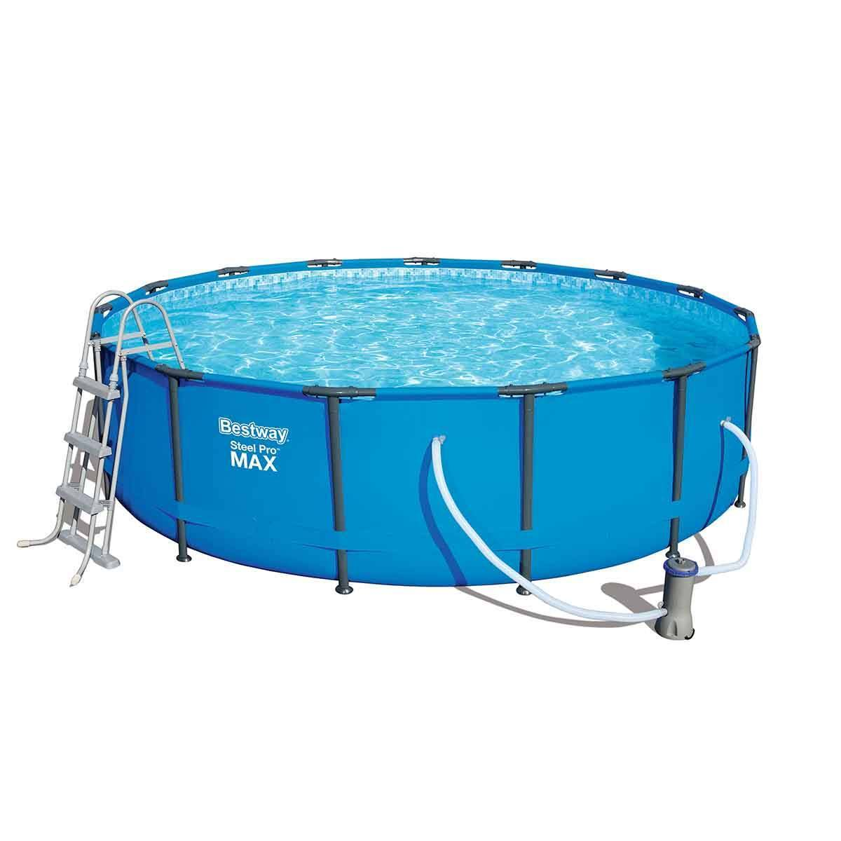 Pool Bodensauger Erfahrung Steel Pro Max Pool Set
