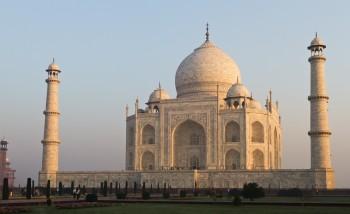 2011 03 16 Agra 186 Edit 350x214 Incredible India   Taj Mahal