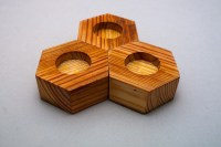 Hex Tea Light Holders  Hog Island Woodcraft