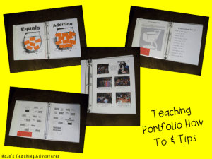 Are you a teacher looking for a new position? These teaching portfolio ideas and tips are sure to help you land the position of your dreams! Click through to see how you can rock your next interview!