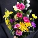 お墓に供える造花の作り方