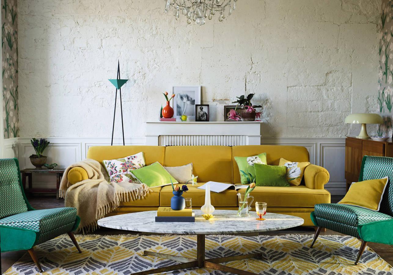 Decoration Interieur Peinture Jaune | Couleur Decoration Photos ...