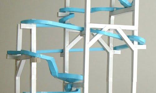 Paper Roller Coasters - Holbrook Tech - paper roler