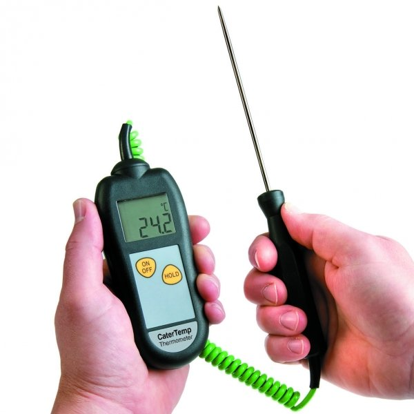 Küchen Thermometer Test Catertemp Thermometer And Probe