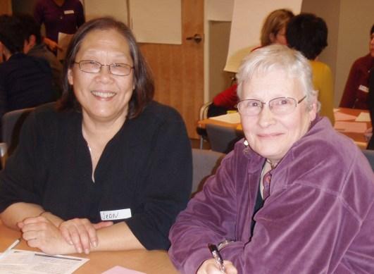 Jean Fei and Fiona Thompson
