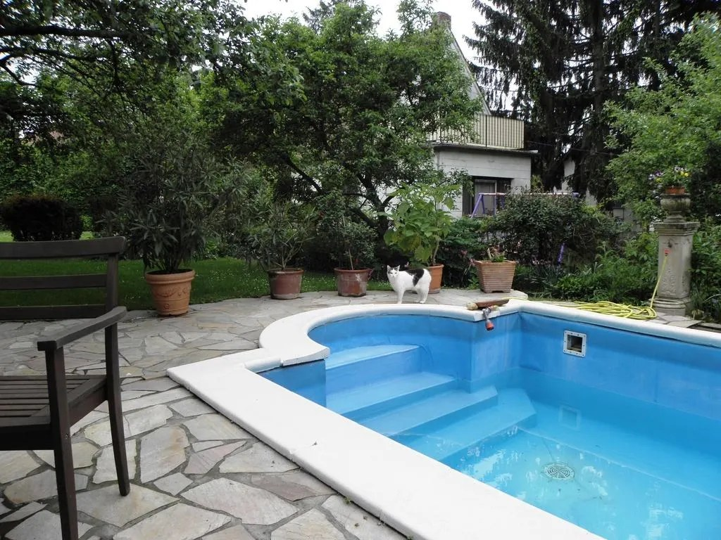 Decoraciones De Piscinas Bild Quotpool Garten Quot Zu Pension Anzengruber In Wien