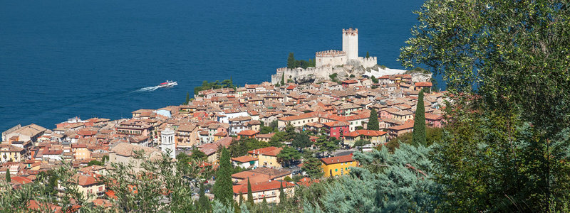 Hotel Caminetto Garda Malcesine A Pretty Small Town On The Eastern Shores Of Lake Garda