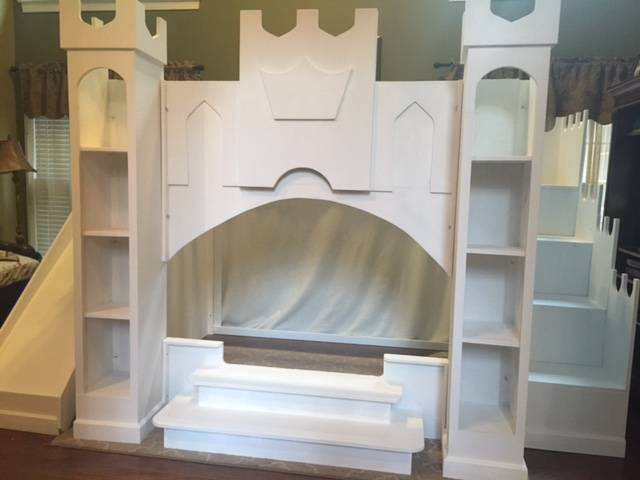 Princess Castle Loft Playhouse Bed Holiday39s Custom Kids
