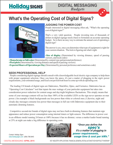APR 2015-What is the Operating Cost of Digital Signs pdf view 3
