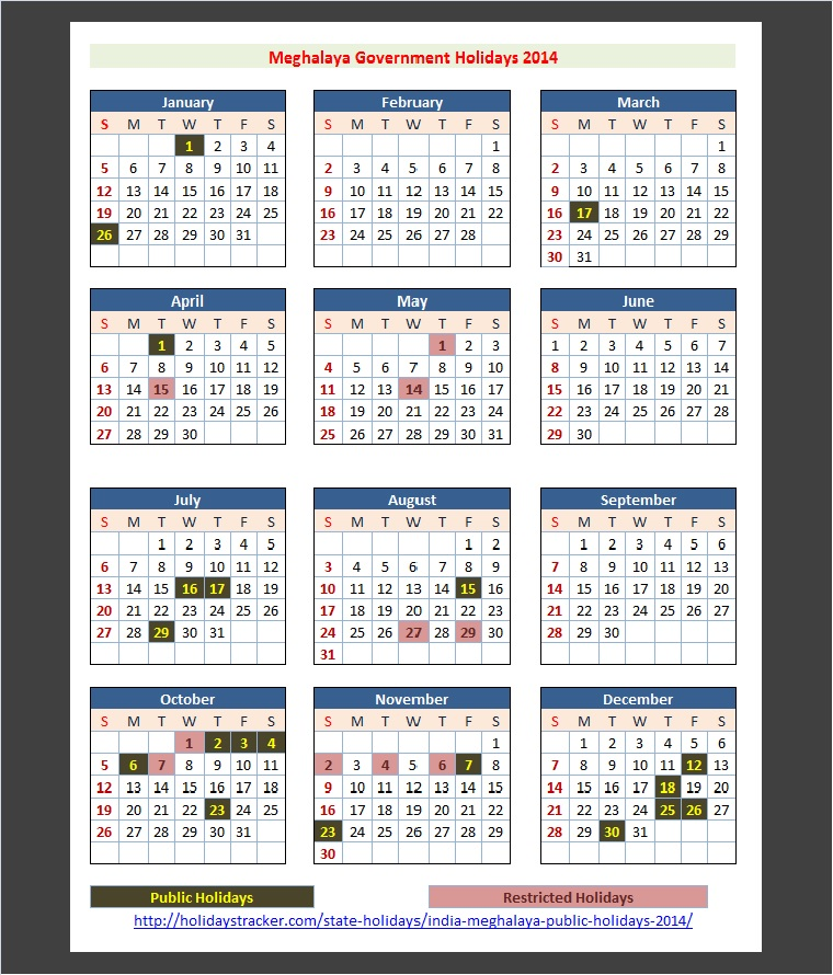 2014 Calendar With Holiday List India What We Did On Our Holiday 2014 Imdb Meghalaya India Public Holidays 2014 – Holidays Tracker