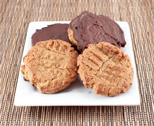 Paleo Chocolate Covered Almond Meringue Cookies