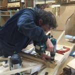 jethro_making_vibrasonic_therapy_bed