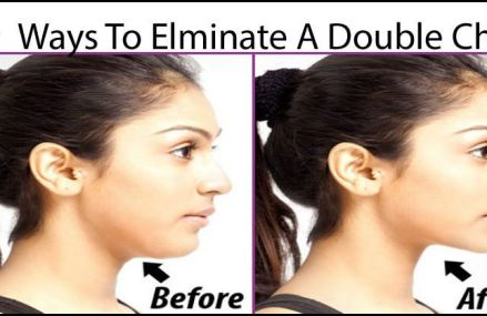 4 Simple Exercises That Will Remove Your Double Chin