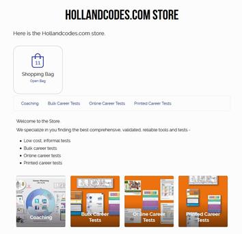 career test Hollandcodes Blog