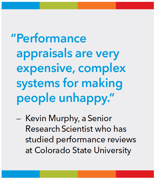 Failure to Perform? - Performance reviews remain standard for most