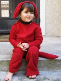 Toddler Costume: Clifford the Big Red Dog | hollowglen