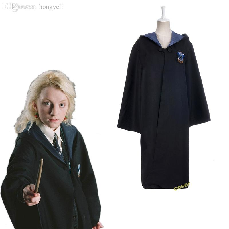 Wholesale Jewelry House Harry Potter Adult Cosplay Cloak Hollywood Costumes
