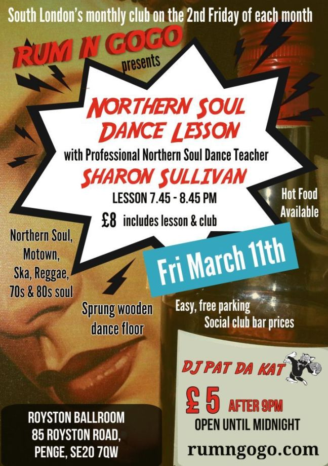 how to dance to northern soul music