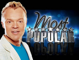 "Graham Norton returns to the USA with ""Most Popular""."