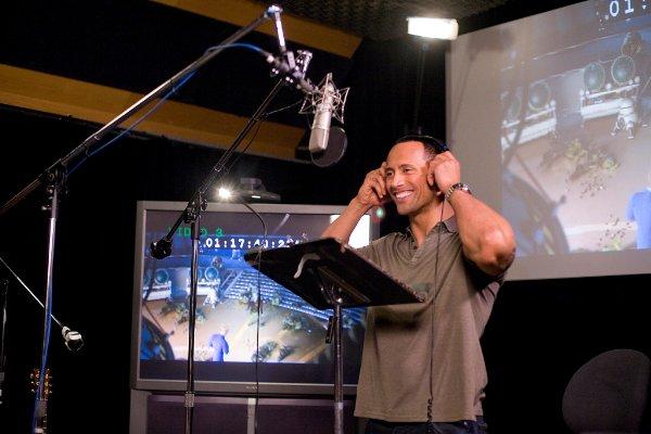"""Planet 51"", Dwayen Johnson served as voice of Chuck."