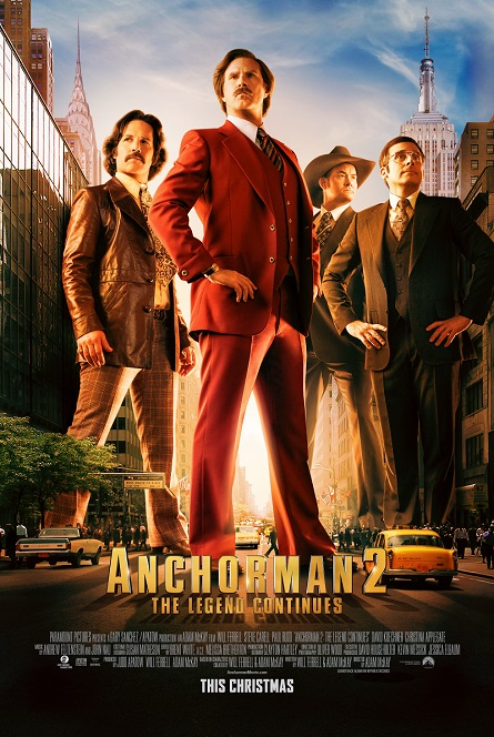 Anchorman 2 poster