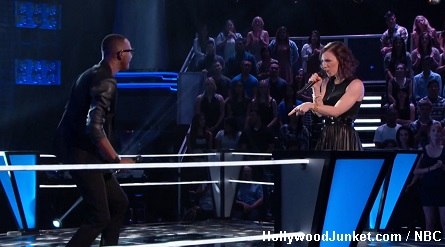 The Voice R. Anthony vs. Kat Robichaud