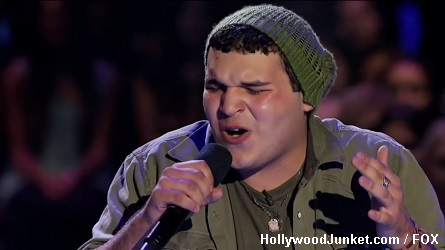 Carlos Guevara X Factor Four Chair Challenge