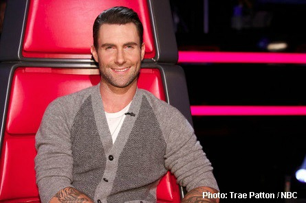 The Voice Adam Levine as Mr. Rogers