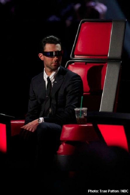 The Voice Adam, CeeLo's glasses