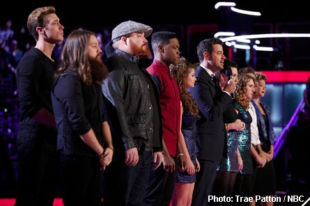 The Voice Top 12 Live Eliminations