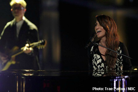 Sara Bareilles, The Voice