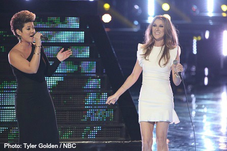 The Voice - Tessanne Chin, Celine Dion
