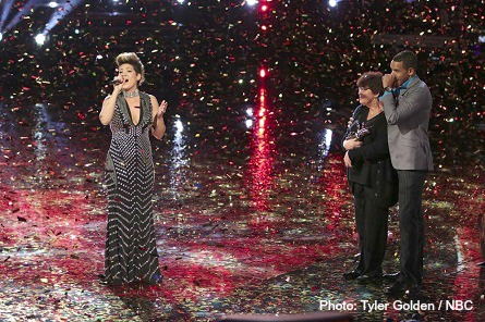 THE VOICE season 5 winner Tessanne Chin