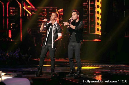 The X Factor USA - Carlito Olivero, Prince Royce