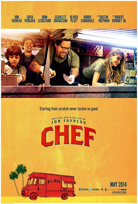 Chef poster, Open Road Films
