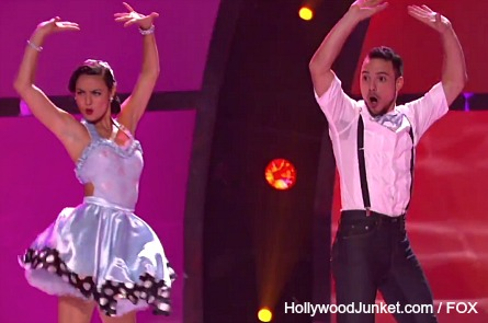 So You Think You Can Dance Top 18 - Bridget, Emilio
