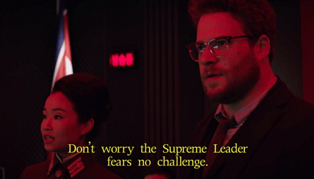 The Interview, Diana Bang, Seth Rogan