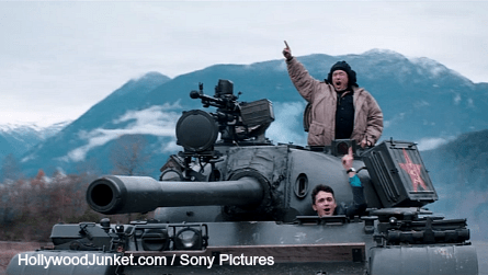 The Interview, tank, James Franco, Randall Park