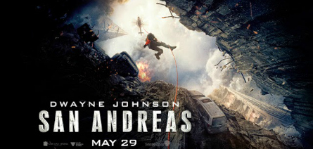 San Andreas movie banner