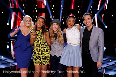 The Voice Season 8 Top 5