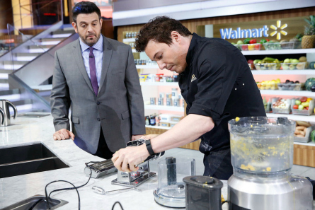 Food Fighters season 2,  Adam Richman, Rocco Dispirito