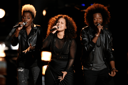 The Voice 11, Live Playoffs Alicia Keys Holy War