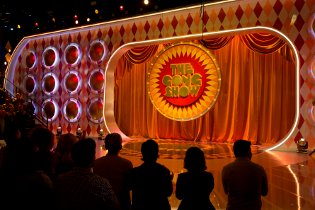 The Gong Show 2017 stage