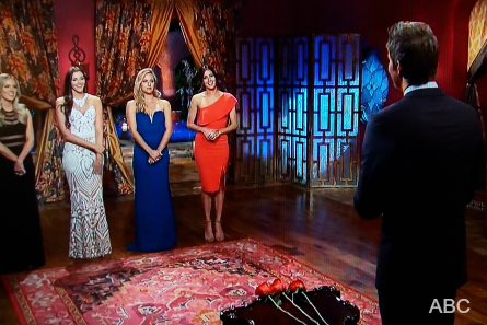 The Bachelor 22 week 8 rose ceremony