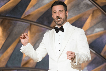 Oscars 90, host Jimmy Kimmel