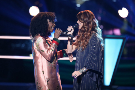 The Voice 14 Battles,Christiana vs.Shana