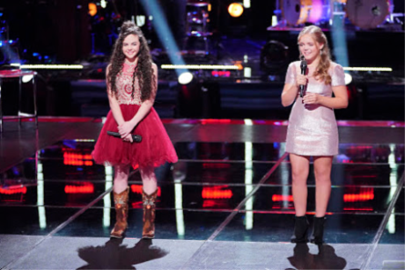 The Voice 15 Knockouts week 2, Chevel vs. Sarah Grace