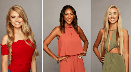 The Bachelor 2019 premiere, Demi, Tayshia, Heather